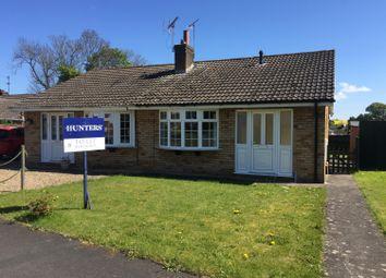 Thumbnail 2 bedroom semi-detached bungalow to rent in Parkfield, Stillington, York