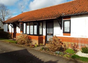 Thumbnail 2 bed terraced bungalow for sale in The Moorings, Stoke Ferry, King's Lynn