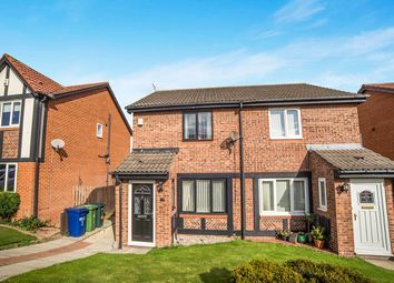 Thumbnail 2 bed semi-detached house for sale in Sanderling Close, Ryton