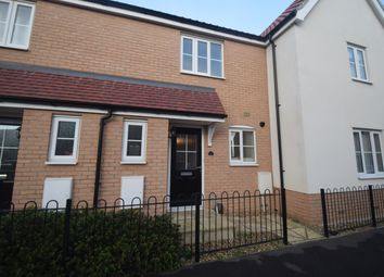 Thumbnail 2 bedroom terraced house to rent in Matilda Groome Road, Hadleigh, Ipswich