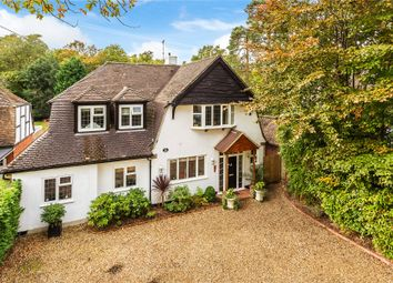 Thumbnail 4 bed detached house for sale in Woodham, Woking, Surrey