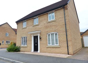 Thumbnail 4 bed detached house for sale in Ruster Way, Hampton Hargate, Peterborough