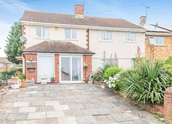 Thumbnail 3 bed end terrace house for sale in Milnroy Road, Thurnby Lodge, Leicester