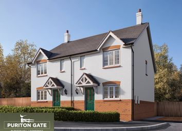 Thumbnail 3 bed property for sale in Puriton Hill, Puriton, Bridgwater