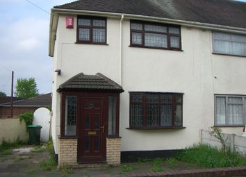 Thumbnail 3 bed semi-detached house to rent in New Street, Tipton