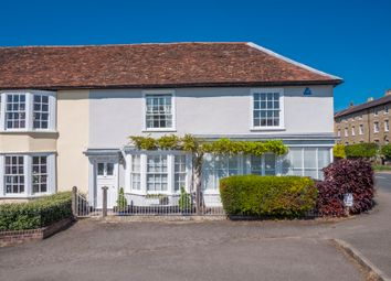 Thumbnail 4 bed semi-detached house for sale in The Green, Long Melford, Sudbury