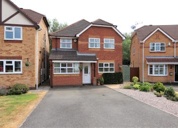 Thumbnail 4 bedroom detached house for sale in Ulleswater Crescent, Ashby-De-La-Zouch