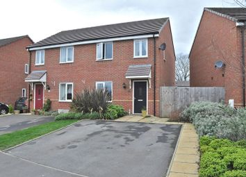 Thumbnail 3 bed semi-detached house for sale in Greengage Way, Hampton, Evesham