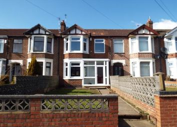 Thumbnail 3 bed terraced house for sale in Sadler Road, Radford, Coventry, West Midlands