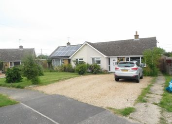 Thumbnail 3 bed semi-detached bungalow for sale in Woodward Avenue, Bacton, Stowmarket
