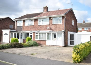 Thumbnail 3 bed semi-detached house for sale in Brookfield Avenue, Hucknall