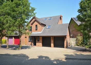 Thumbnail 5 bed detached house to rent in Bickleigh Crescent, Furzton, Milton Keynes