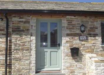 Thumbnail 2 bed barn conversion to rent in Delabole