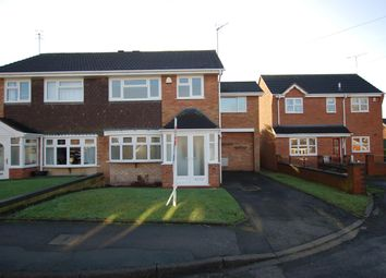 Thumbnail 4 bedroom semi-detached house for sale in Florida Way, Kingswinford