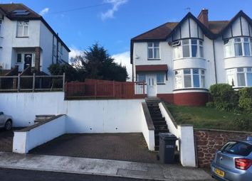 Thumbnail 3 bed semi-detached house to rent in Laura Grove, Paignton