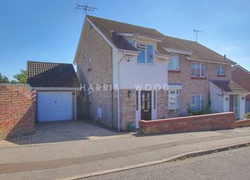 Thumbnail 3 bed semi-detached house for sale in Dunnock Way, Colchester