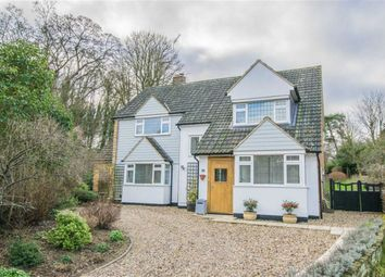 Thumbnail 4 bed detached house for sale in Valley Close, Hertford, Herts
