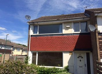 Thumbnail 2 bed semi-detached house to rent in Cranwell Road, Strelley, Nottingham