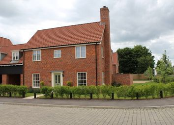 Thumbnail 4 bed link-detached house for sale in Lingwood Close, Barningham, Bury St. Edmunds