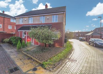 Thumbnail 2 bed semi-detached house for sale in Cadet Close, Coventry