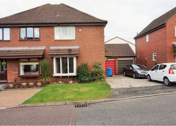 Thumbnail 3 bed semi-detached house for sale in Haywood Crescent, Runcorn