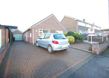 Thumbnail 3 bed bungalow to rent in St Andrews Drive, Burton Upon Trent, Staffordshire