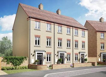 """Thumbnail 3 bedroom terraced house for sale in """"Cannington"""" at Southern Cross, Wixams, Bedford"""