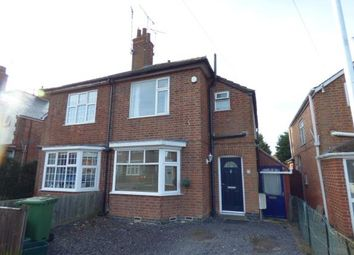 Thumbnail 3 bed semi-detached house for sale in Grange Road, Wigston, Leicestershire