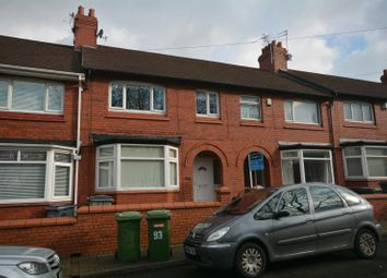 Thumbnail 3 bed terraced house to rent in Russell Road, Rock Ferry, Wirral