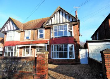 Thumbnail 3 bed flat for sale in Longfellow Road, Worthing