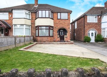 Thumbnail 3 bed semi-detached house for sale in Moxhull Road, Kingshurst, Birmingham