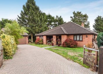 Thumbnail 4 bed detached bungalow for sale in Green Lane, Woodhall Spa, Lincs