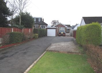 Thumbnail 2 bedroom detached bungalow for sale in Manor Road, Penn, Wolverhampton