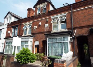 Thumbnail 4 bedroom terraced house for sale in Pershore Road, Selly Park, Birmingham, West Midlands