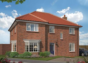 Thumbnail 4 bed detached house for sale in Foster Way, Westhill, Kettering