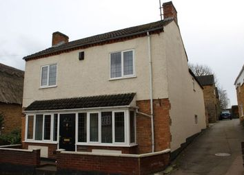 Thumbnail 3 bed detached house to rent in Cross Street, Moulton, Northampton