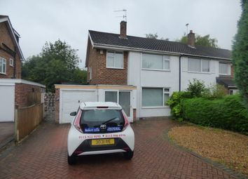 Thumbnail 3 bed semi-detached house to rent in Wroxham Drive, Wollaton