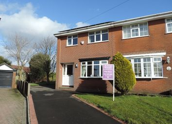 Thumbnail 3 bed semi-detached house for sale in St. James Close, Rochdale
