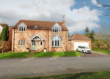 Thumbnail 4 bed detached house for sale in Station View, Little Weighton, Cottingham