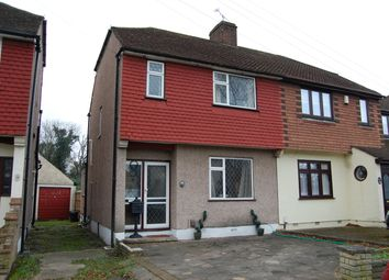 Thumbnail 3 bed end terrace house to rent in Sussex Avenue, Harold Wood