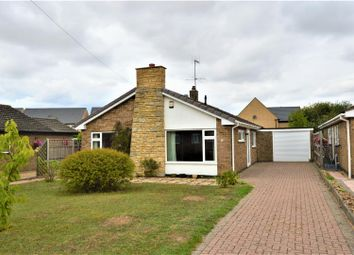 Thumbnail 3 bed detached bungalow for sale in Belvoir Close, Stamford
