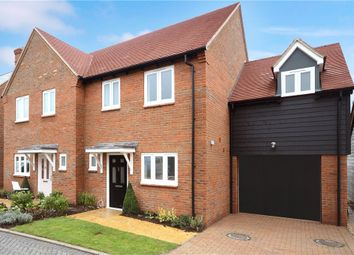 Thumbnail 3 bedroom semi-detached house for sale in Fairfield Close, Haddenham, Aylesbury
