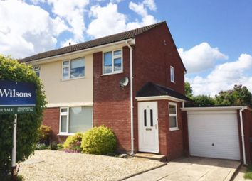 Thumbnail 3 bed semi-detached house for sale in Castlemans Road, Taunton