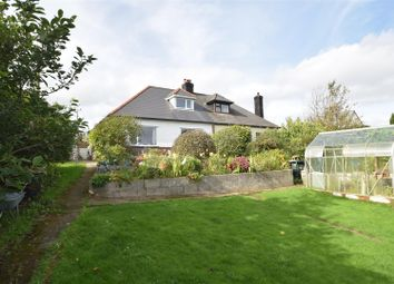 Thumbnail 2 bed semi-detached bungalow for sale in Treluswell, Four Cross, Penryn