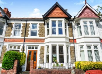 Thumbnail 3 bed terraced house for sale in Newfoundland Road, Cardiff