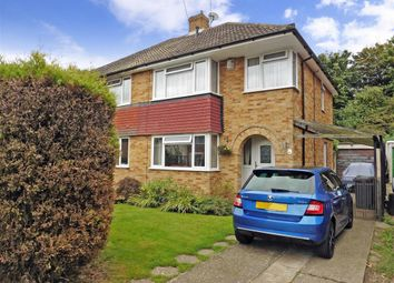 Thumbnail 3 bedroom semi-detached house for sale in Sedley Close, Aylesford, Kent