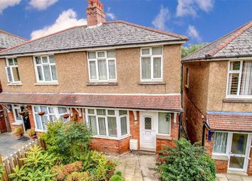 Thumbnail 3 bed semi-detached house for sale in Harold Road, Hastings, East Sussex