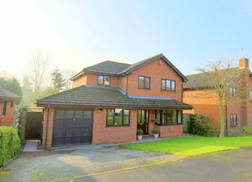 Thumbnail 4 bed detached house for sale in Brookfield, Loggerheads, Market Drayton