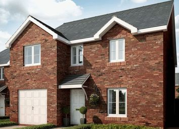 Thumbnail 4 bed detached house for sale in Plot 11, Ponthir Road, Newport