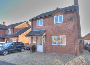 Thumbnail 3 bed detached house for sale in Meadow Way, Horsford, Norwich